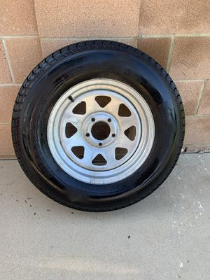 205 75 15 trailer tires and wheels for Sale in Simi Valley, CA