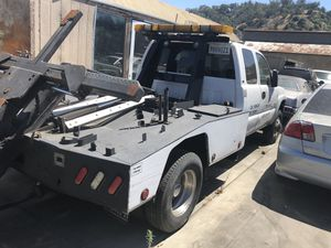 2007 gmc 3500hd self loader diesel tow truck f550 eagle & f450 eagle for Sale in Los Angeles, CA