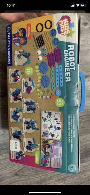 Thames & Kosmos Kids First Robot Engineer Kit and Storybook for Sale in Peoria, AZ