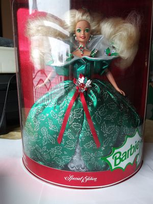 1995 Holiday Barbie mint condition. In box, never displayed. for Sale in Parma, OH