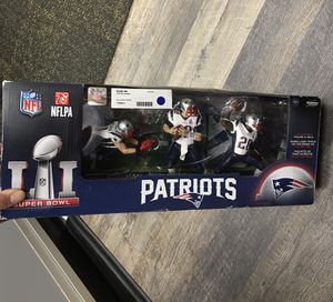 NFL New England Patriots Championship Action Figure 3-Pack for Sale in Lynn, MA