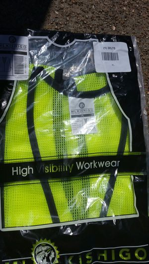 3 new safety vest $15 for all for Sale in Saint Louis, MO