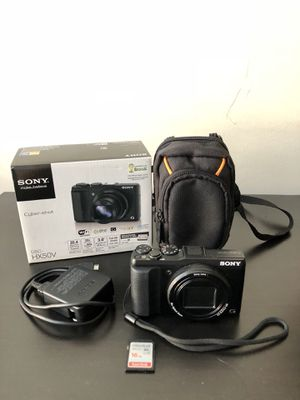 Sony DSC-HX50V Cyber-shot Digital Camera, 20MP, 30x optical zoom for Sale in Beachwood, OH