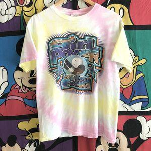 VTG 98 Girl Power 1 of 1 Tye Dye T-shirt Medium for Sale in Cockeysville, MD