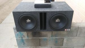 10in Polk audio Rockford to share mono P200-2 for Sale in Phoenix, AZ