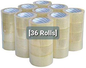 36 Rolls 2Mil x 110 Yrds (330Ft) Heavy Duty Cartoon Sealing Tape for Sale in Santa Ana, CA