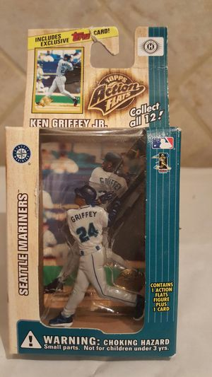 Ken Griffey Jr. Seattle Mariners TOPPS MLB Action Flats (Figure & Card) for Sale in Florissant, MO