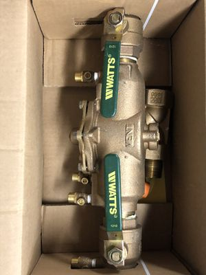WATTS BACKFLOW PREVENTER .........NEW for Sale in Lansdale, PA