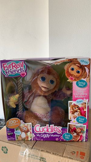 FurReal Friends Cuddles Monkey for Sale in Palm Beach Gardens, FL