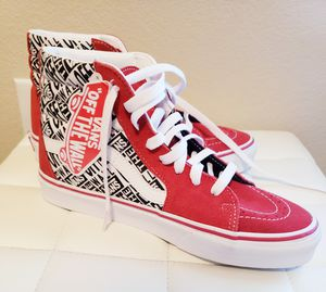 Vans Sk8-Hi OTW Repeat VN0A38GESO5 Red Size 7 Men / 8.5 Womens for Sale in Hutto, TX