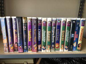 VCR & 17 Disney VHS Tapes for Sale in Nashville, TN