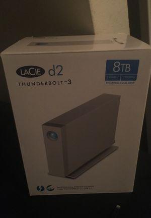 Lacie Thunderbolt 3 8TB for Sale in Murfreesboro, TN
