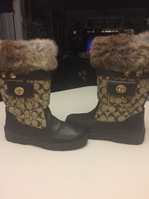 Coach Boots Size 10 medium for Sale in Takoma Park, MD