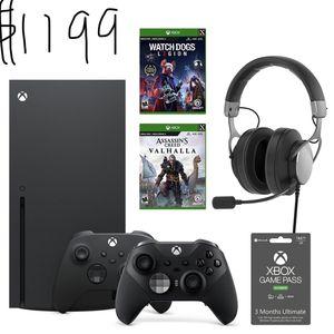 Xbox Series X Ubisoft Bundle for Sale in Sacramento, CA