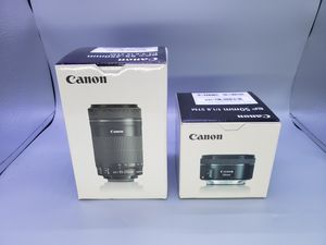 Canon lenses(READ) for Sale in Glendale Heights, IL