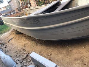 12ft aluminum boat for Sale in Modesto, CA