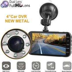 """FHD 1080P Camera Front and Rear with Night Vision,2 Channel 310° Wide Angle Lens 4"""" Screen Dashboard cam for Sale in Ontario,  CA"""