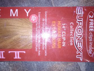 """Remy Human Hair Clip-In 14"""" Hair Extensions for Sale in Clarksburg,  WV"""