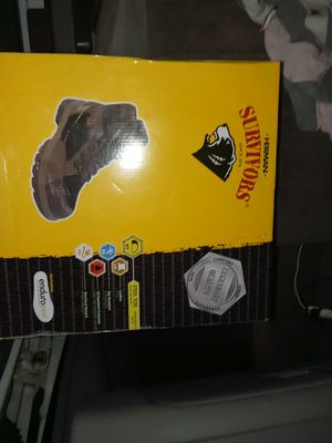 Survivors steel toe work boots for Sale in Pacific, WA