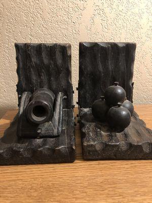 Old Bookends Canon Balls for Sale in Valdosta, GA