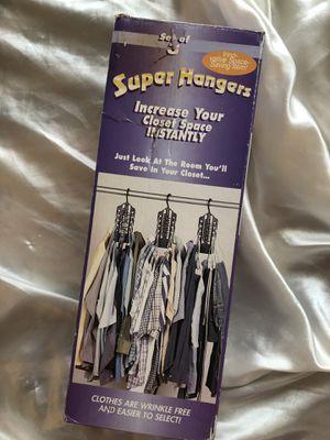 Super Hanger Closet Organization for Sale in UPPER ARLNGTN, OH