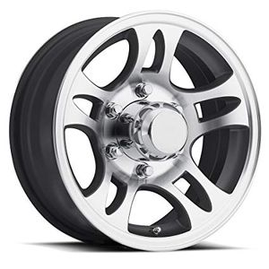 Aluminum Sendel Series trailer wheel on sale for all sizes for Sale in San Bernardino, CA
