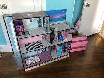LOL Dollhouse and Accessory Storage / Showcase for Sale in Alameda,  CA