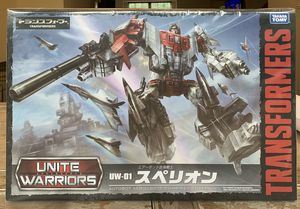 Takara Tomy Transformers Unite Warriors Superion for Sale in Frederick, MD