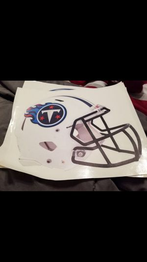 Titans fathead 11x7 for Sale in Fall River, MA