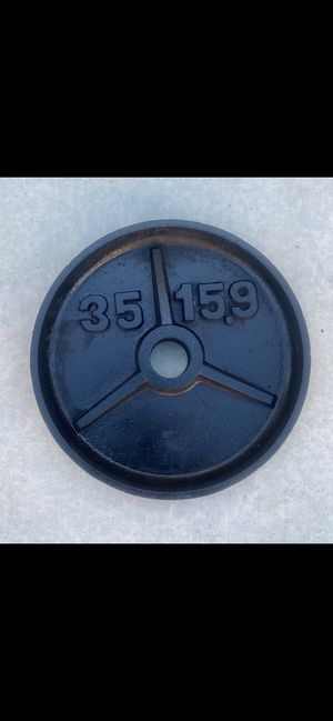 Barbell 35 lbs !! (Only one ) for Sale in Bell, CA