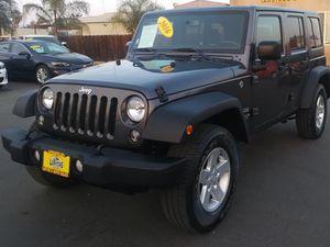 2016 Jeep Wrangler for Sale in Fresno, CA