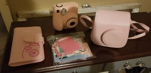 Instax camera with case and album for Sale in Saginaw, TX