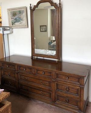 Heritage Dresser with Mirror. Antique for Sale in Falls Church, VA