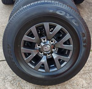 2020 TOYOTA TACOMA SR5 RIMS & BRAND NEW TIRES____20 MILES for Sale in Houston, TX