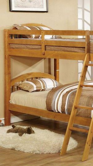 🔰Honey Pie Twin/Twin Bunk Bed byGlobal for Sale in Glen Burnie, MD