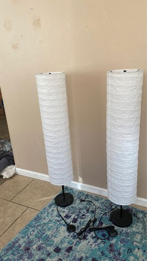 Floor standing lamps-2 units for Sale in Tempe, AZ