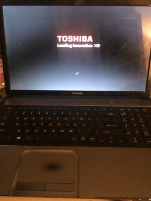 "toshiba 17"" laptop windows 10 for Sale in San Diego, CA"