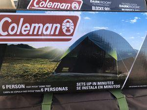 6 people Coleman Dark Room Sundome Tent for Sale in Los Angeles, CA