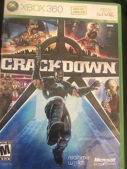 Crackdown (Microsoft Xbox 360, 2007) for Sale in Silver Spring,  MD
