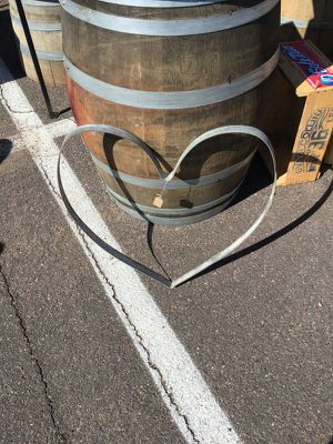 Wine Barrel Hoop Heart For Sale In Tucson Az Offerup