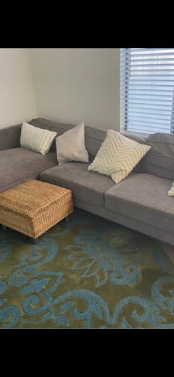 Grey Mid Century Modern Sectional for Sale in San Diego,  CA