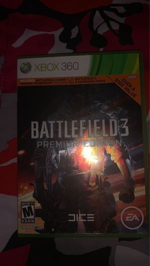 Battlefield 3 Premium Edition [Xbox 360] for Sale in Beaumont, CA