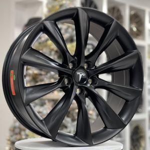 "20"" Tesla Style Wheels Rims 5x114.3 Fit Honda Accord Acura TL Tlx Tsx Lexus Gs300 Gs350 Es350 Nissan Maxima Hyundai Genesis for Sale in Queens, NY"