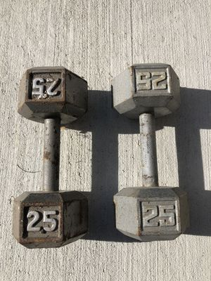 25 lbs. hex dumbbell for Sale in Evesham Township, NJ
