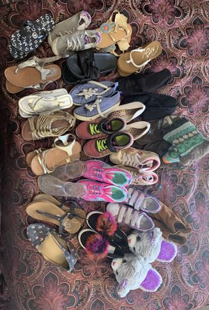 Lot of girls shoes for Sale in Rio Rancho, NM