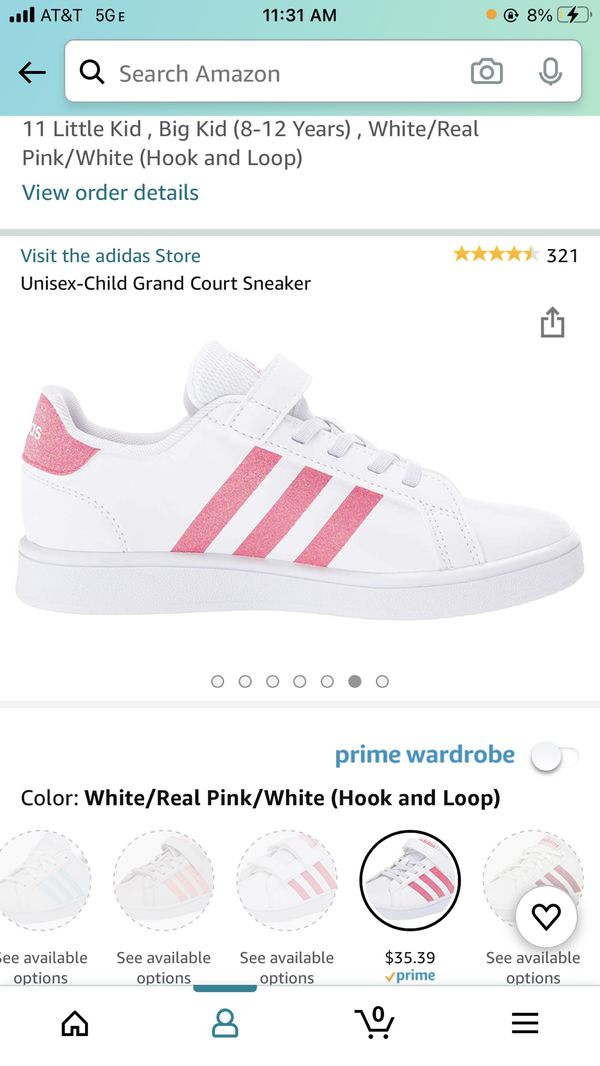 Adidas Youth 11y Grand Court New In Box