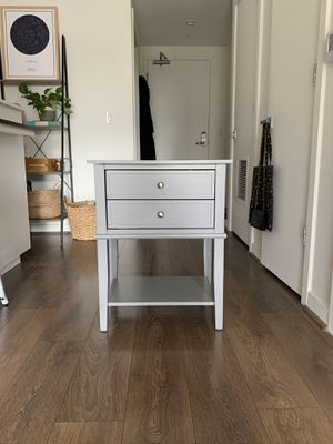 Dmitry 2 Drawer End Table for Sale in Washington, DC