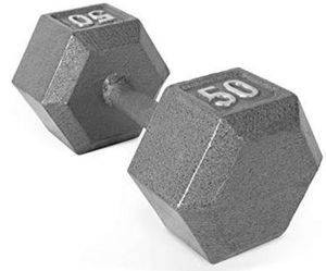 Set of 2 50 lbs dumbbells for Sale in Newark, OH