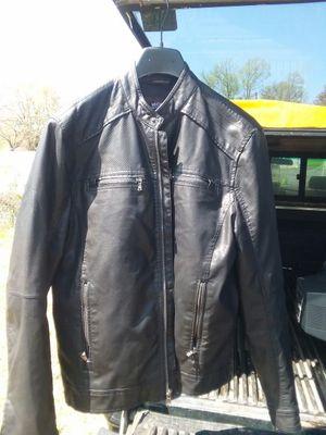 Michael Kors. Leather Jacket size med for Sale in Fort Washington, MD
