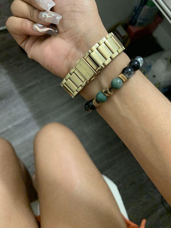 Authentic gold Michael Kors women's watch